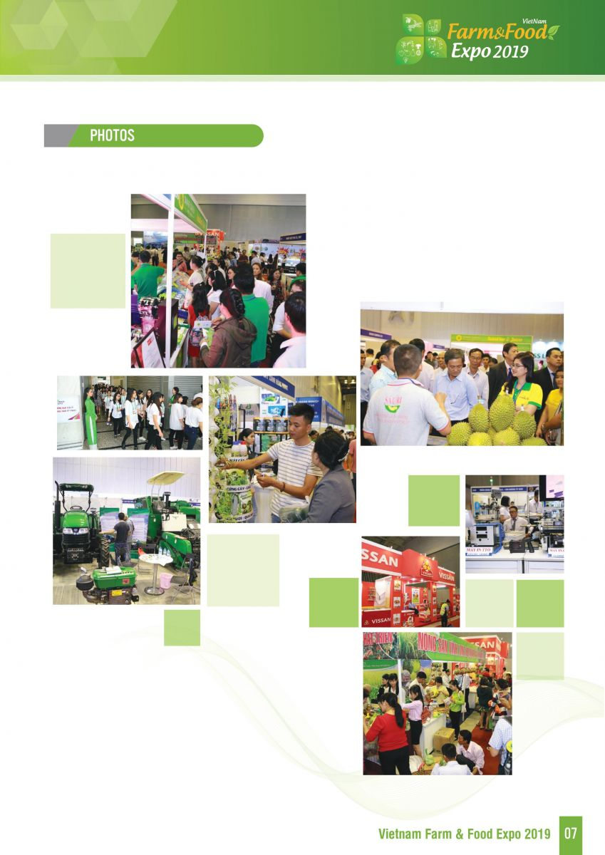 AGRITECH VIETNAM 2019 AND VIETNAM FARM & FOOD EXPO 2019 - For Exhibitors